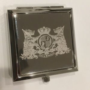 Juicy couture double mirrored compact